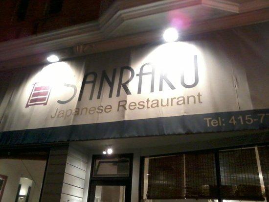 Sanraku Japanese Restaurant: fachada