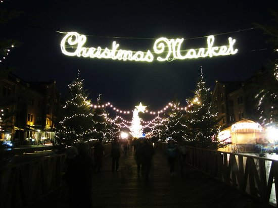 Yokohama Red Brick Warehouse: Christmas Market