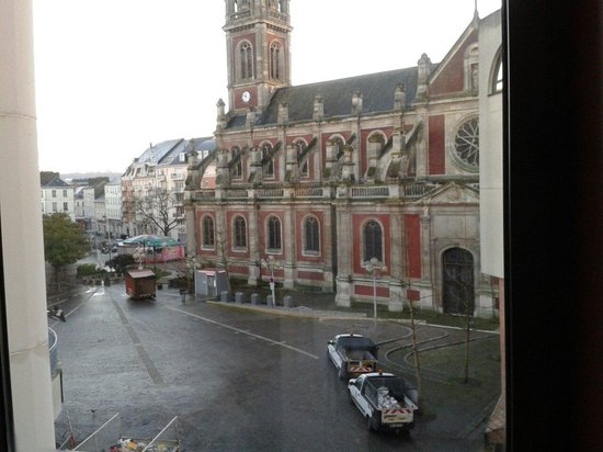 Hotel Rouen Saint Sever: Vista dalla stanza 207
