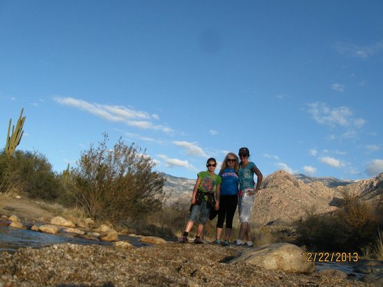 Catalina State Park: Canyon Loop trail