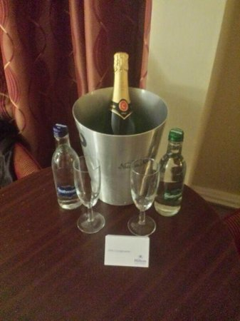 Hilton Nottingham: Champs time