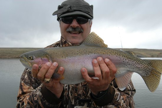 The Complete Fly Fisher : Big Rainbows are waiting for our anglers on guided fly fishing adventures.