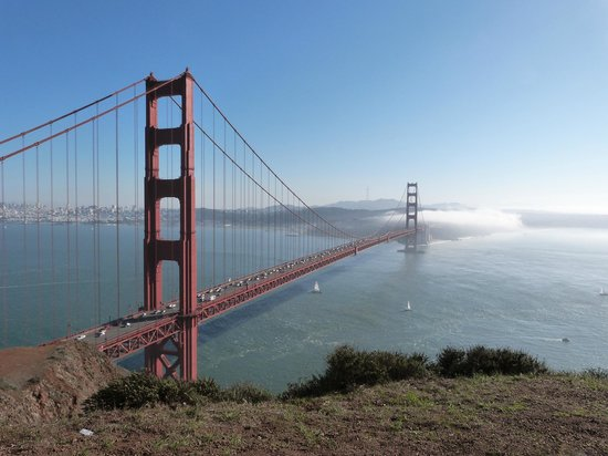 Blazing Saddles Bike Rentals and Tours: vIEW FROM MARIN HIGHLANDS