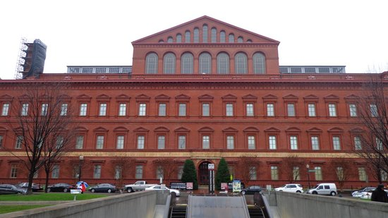 National Building Museum : The reddest building in town