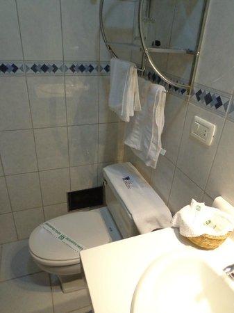 Hotel Continental: bath 1