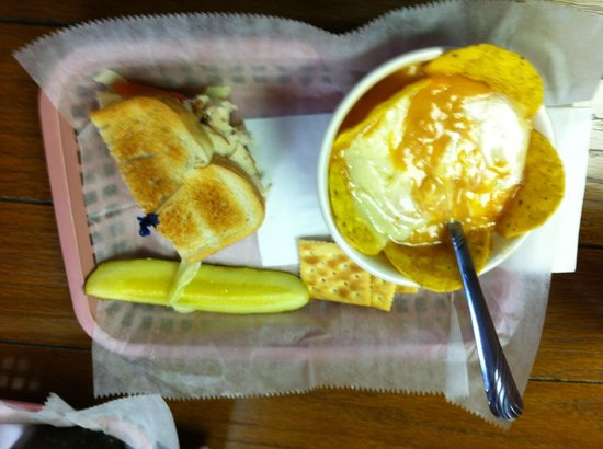 Simply Delicious Market Place: 1/2 Rotisserie Chicken and Bacon with Chicken Tortilla Soup