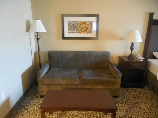Best Western Plus Intercourse Village Inn & Suites: Sofa bed