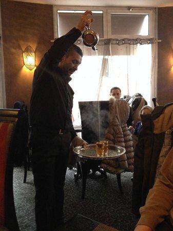 Gout D'argan Levallois: thé à la menthe