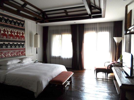 Sibsan Luxury Hotel Rimping Chiangmai : My room (2101)