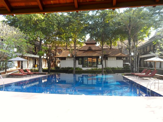 Sibsan Luxury Hotel Rimping Chiangmai: The pool