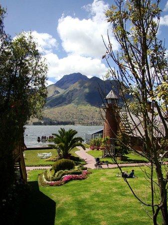 PuertoLago Country Inn: Vista desde el balcòn de la habitación