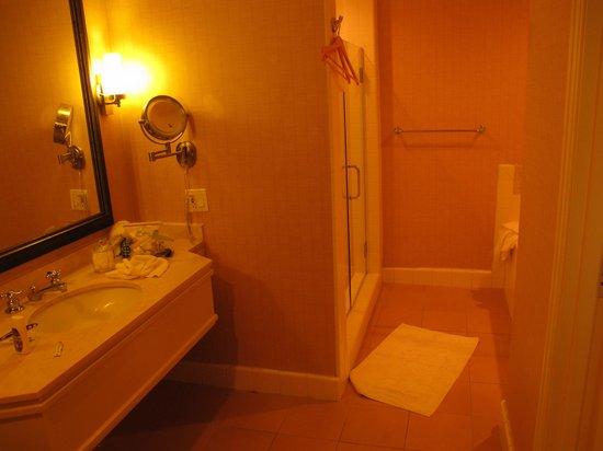 Coronado Island Marriott Resort & Spa: Huge bathroom