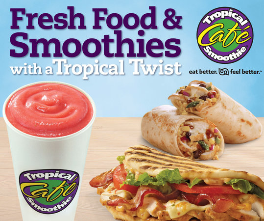 Tropical Smoothie Cafe: Eat Better. Feel Better.