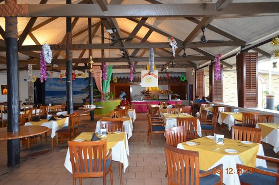 Fiji Hideaway Resort & Spa: Dining Room
