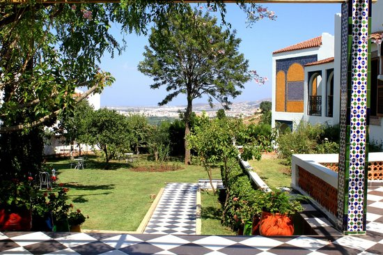Riad Dar Achaach: jardin