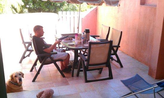 Residence Vasca d'Oro : Terrasse
