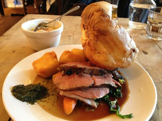 The Pig and Butcher: Sunday roast lamb