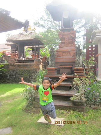 Billy Pendawa Homestay: Small playing areas