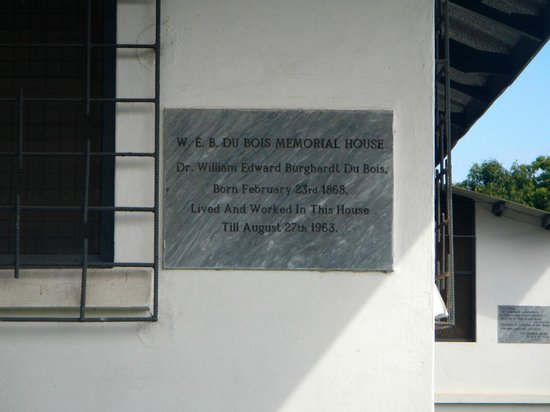 W.E.B. Dubois Center: Memorial House Sign