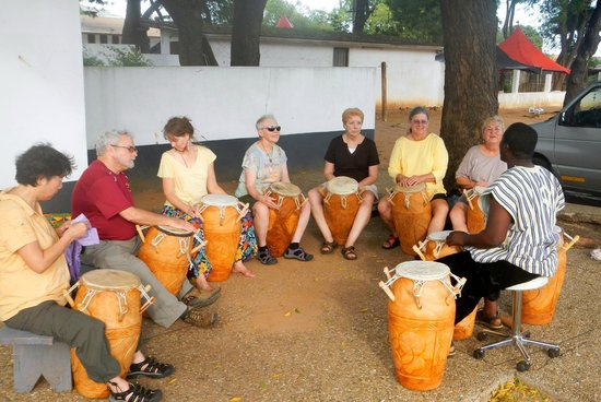 W.E.B. Dubois Center: Drumming on a Sunday Afternoon
