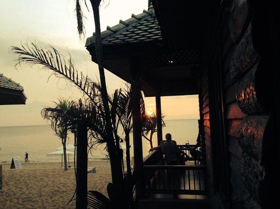 Baan Pakgasri Hideaway: Blick vom zimmer 06 seaview