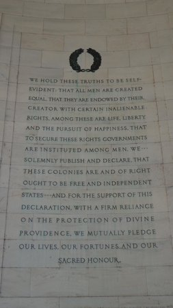 Jefferson Memorial : Life, Liberty .....