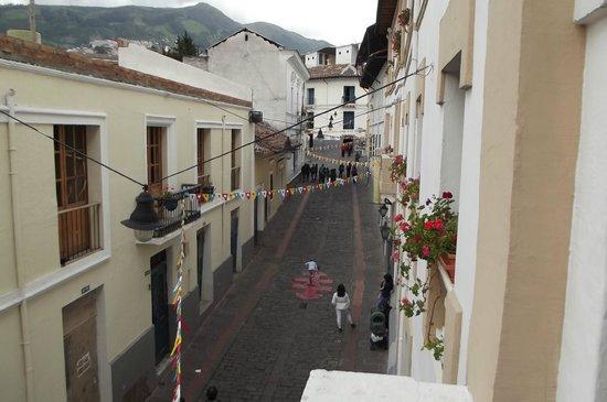La Casona de la Ronda Heritage Boutique Hotel: Vista do quarto