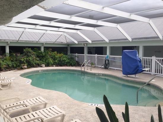 Ivey House: zwembad