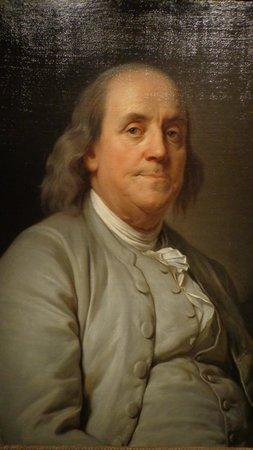 National Portrait Gallery : ... he does look familiar, got a hundred dollar bill?