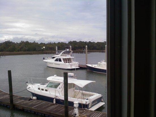 Morgan Creek Grill: Marina View