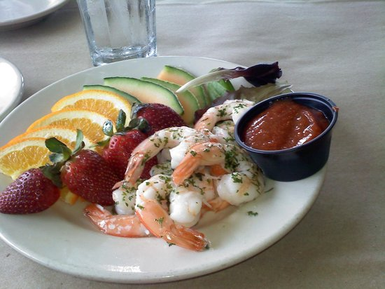 Morgan Creek Grill : Affordable Seafood and Fresh Fruit