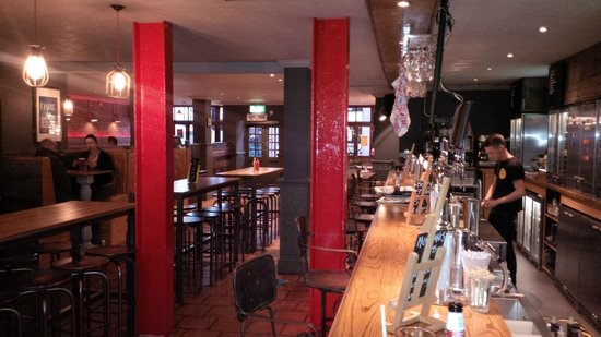 The Crafty Pig: Picture of the length of bar