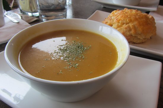 LOL Cafe: Butternut squash soup