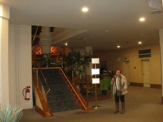 Metropole Hotel Interlaken: Lob do hotel