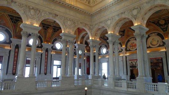 Bibliothèque du Congrès : great hall