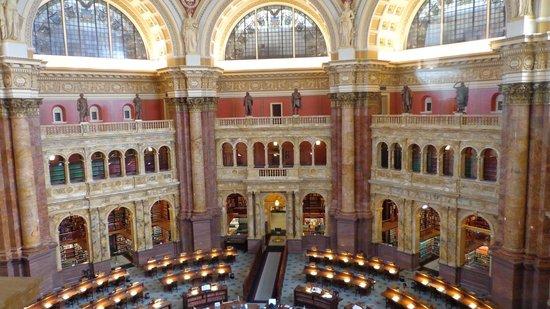 Bibliothèque du Congrès : reading room