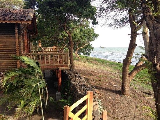 Finca San Juan de la Isla: View from terrasse
