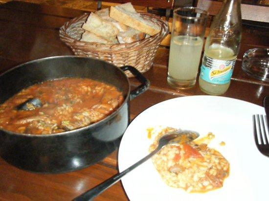 Lokanda Peskarija: 一人では食べきれません。。。