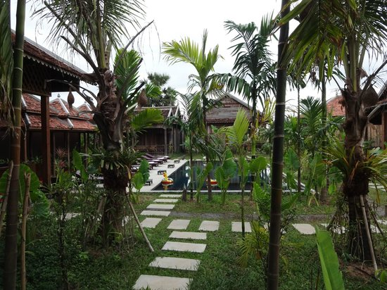 Angkor Rural Boutique Resort: View from the restaurant