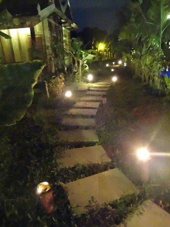 Angkor Rural Boutique Resort: Walkway to our room