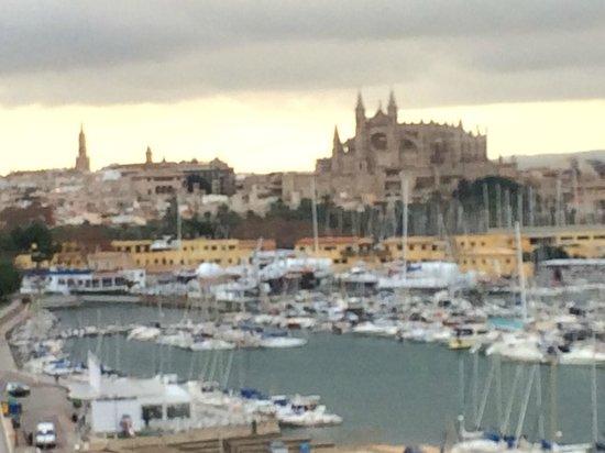Bahia Mediterraneo: vista restaurante con zoom