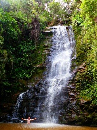 Sao Thome das Letras, MG: Cachoeira Antares STL