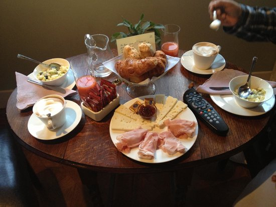 CimaRosa: desayuno