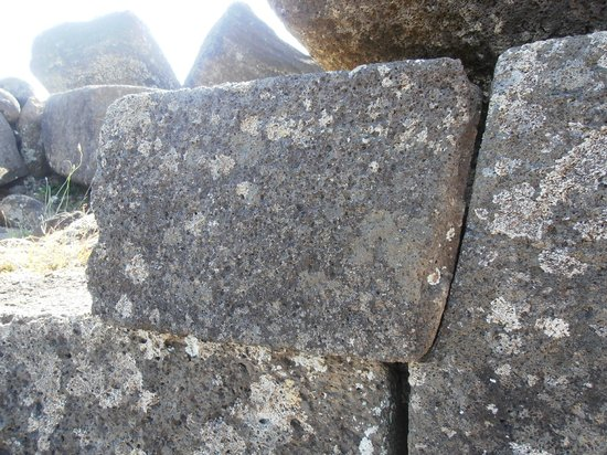 Ahu Vinapu: detalle pared