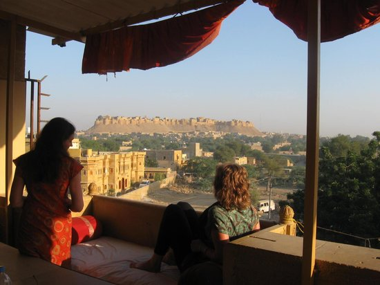 Chandra Niwas: View from dining balcony