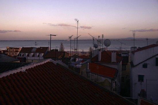 Sunset in Alfama
