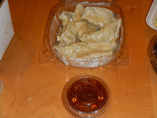 Siam's House: Pot stickers n sauce