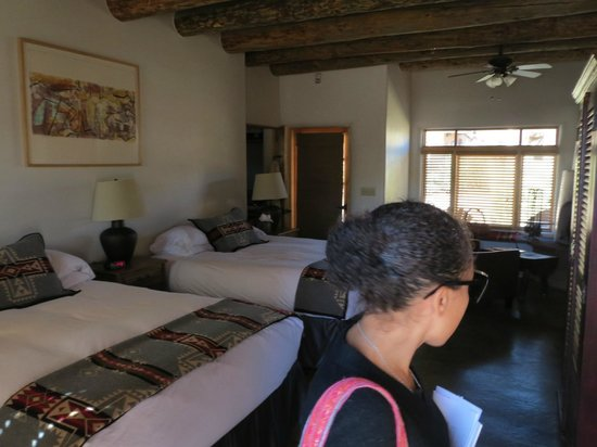 Ojo Caliente Mineral Springs Resort and Spa: our pueblo suite room