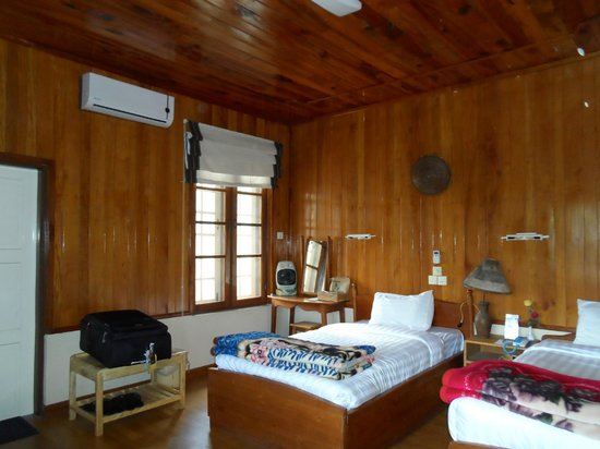 Pine Hill Resort, Kalaw: My room at Pine Hill