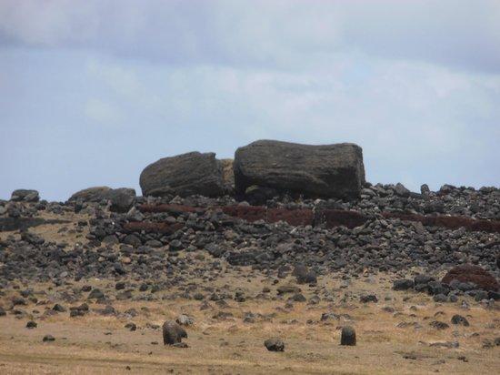 Ahu Huri a Urenga: detalle